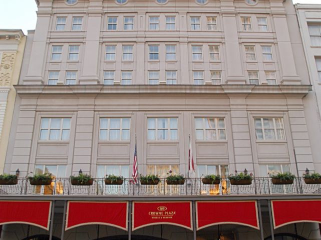 Visiting New Orleans Astor Crown Plaza Hotel Great