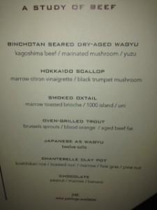 alex menu
